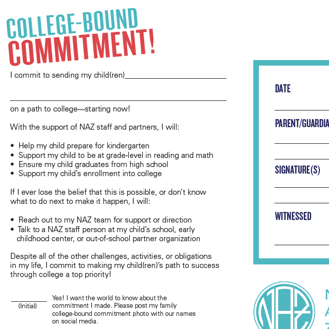 College-Bound Commitment Form