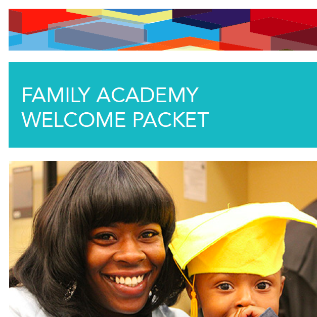 Welcome Packet for Orientation