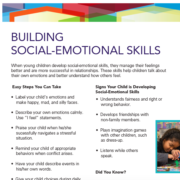 Building Social Emotional Skills