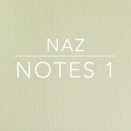 Video - Notes 1